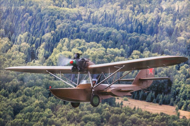 Первый советский серийный самолёт-амфибия Ш-2