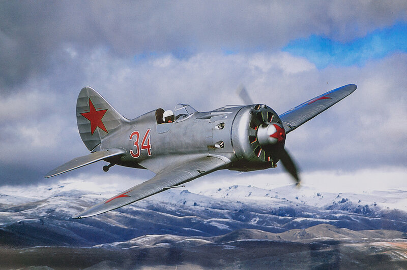 Советский истребитель И-16
