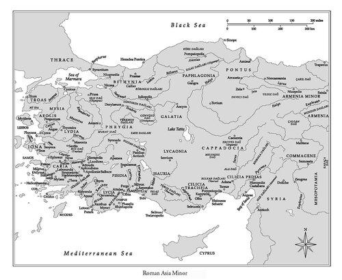 Азиатские колонии Римской империи
