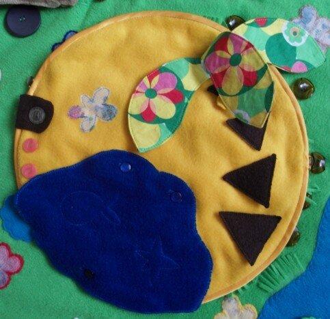 Развивающий коврик для детей... Жаркие тропики