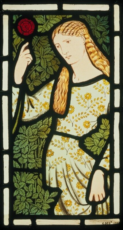 'Merchant's Daughter' Edward Burne-Jones