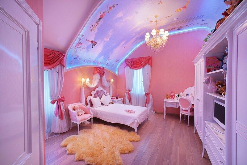 фото интерьера детской комнаты фотосъемка