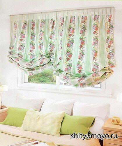 как сшить своими руками шторы на подкладке в венецианском стиле