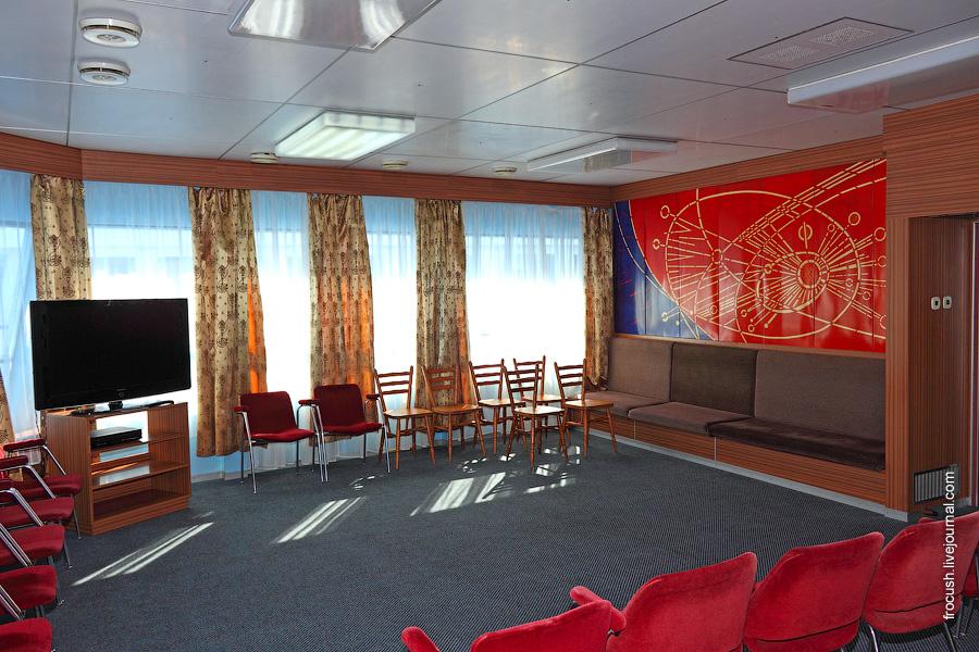 Салон «Панорама» в носовой части шлюпочной палубы