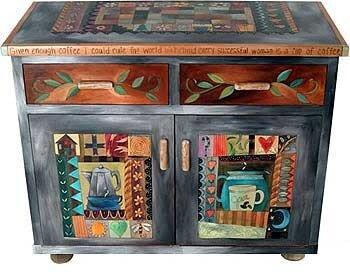 Ручная роспись мебели