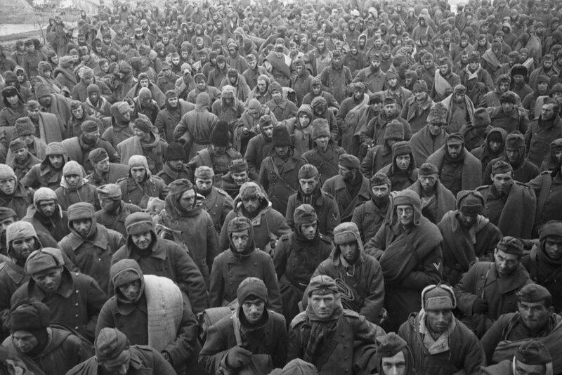 Струнников - Военнопленные