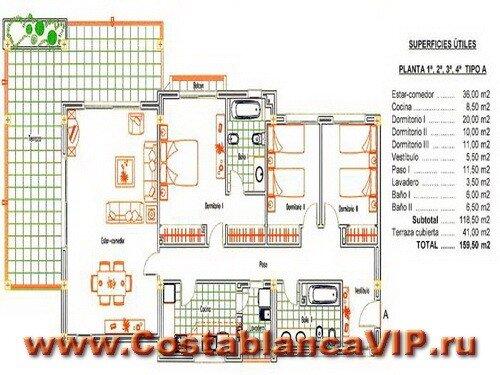 Апартаменты в Altea, апартаменты в Алтее, апартаменты в Испании, квартира в Испании, апартаменты на пляже, недвижимость в Испании, Коста Бланка, CostablancaVIP