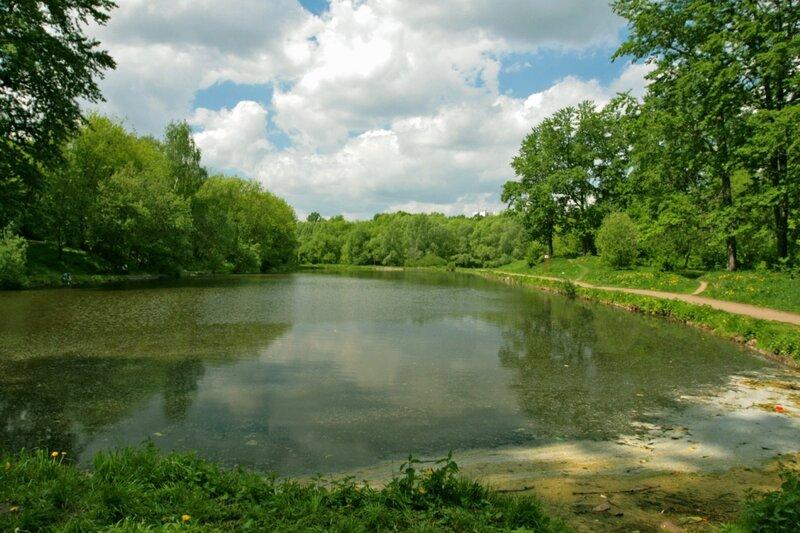 Кольский пруд Холодок