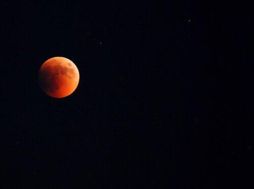 Лунное затмение 15.06.2011