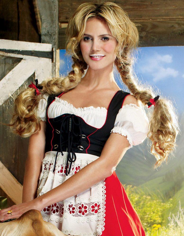 модель Хайди Клум / Heidi Klum for Got Milk 2008