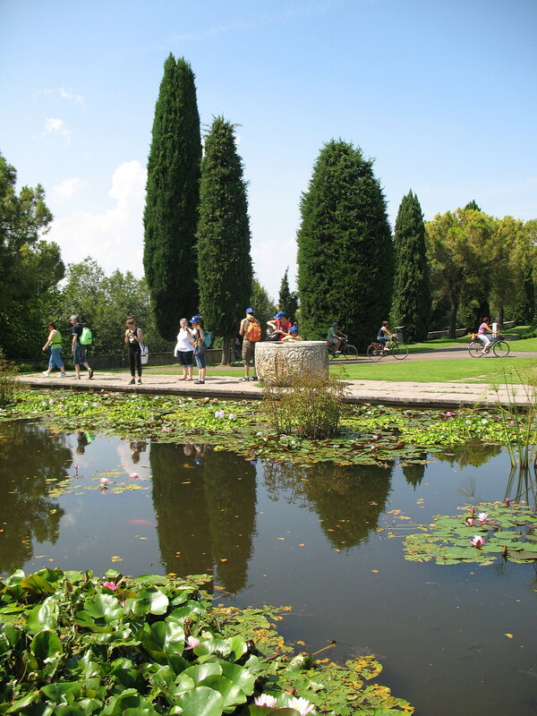 Водяные сады парка Сигурта.