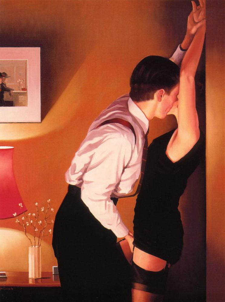 GameOn, by Jack Vettriano