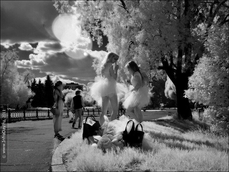 Балерины в Ботаническом саду