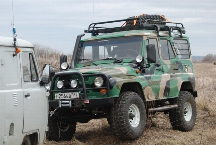 автомобили уаз переделанные для охоты и рыбалки