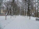 Курилех Ольга Фёдоровна - Зима в городе