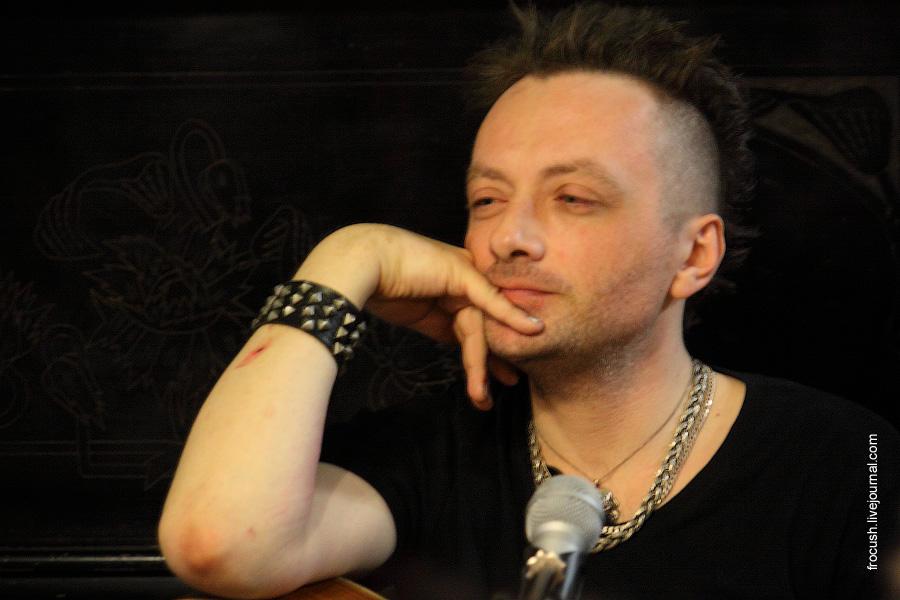 Глеб Самойлов 7 июля 2011 в «Булгаковском доме»