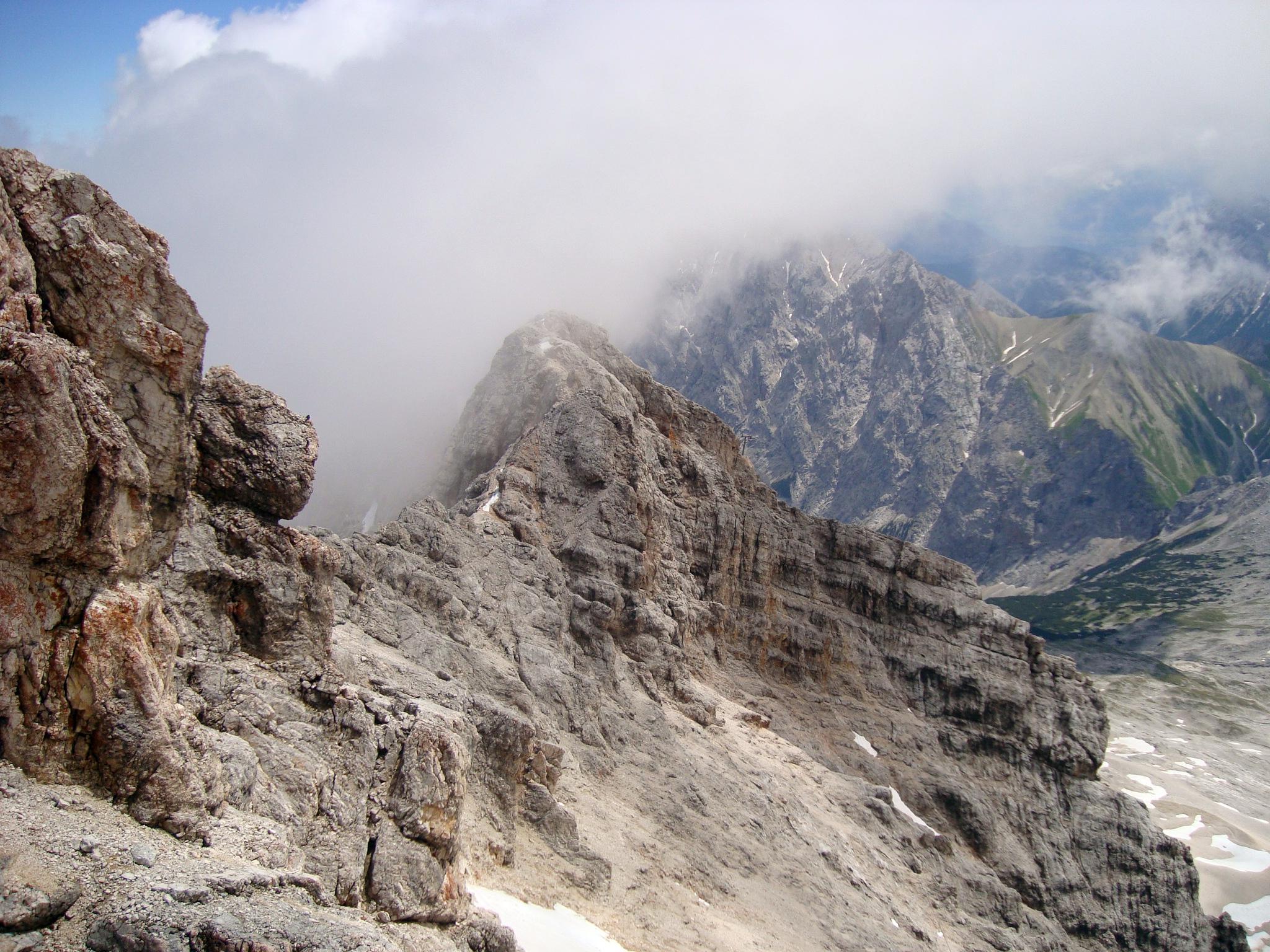 Скалы Zugspitze