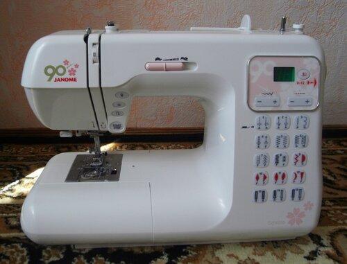 Моя новая швейная машина... Janome DC4030