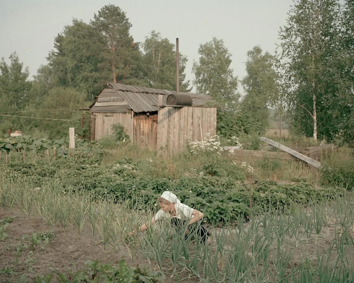Деревня староверов в Красноярском крае