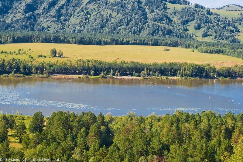Озеро манжерок, алтай, подъемник, горы, лето