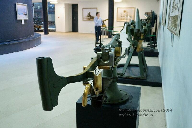 37-мм противоминная пушка системы Гочкиса, Центральный военно-морской музей, Санкт-Петербург