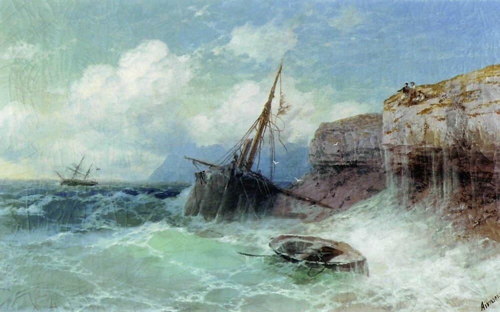 Буря на море. 1880.jpg
