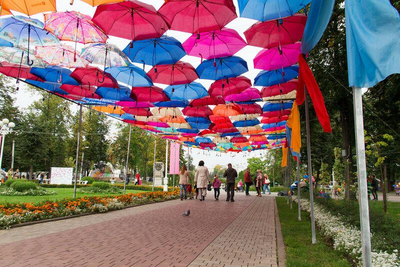 Праздник зонтов