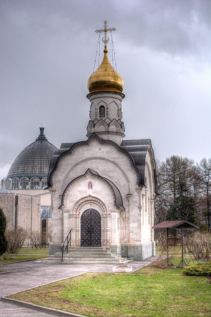 ВДНХ. Храм-часовня Святого Василия Великого