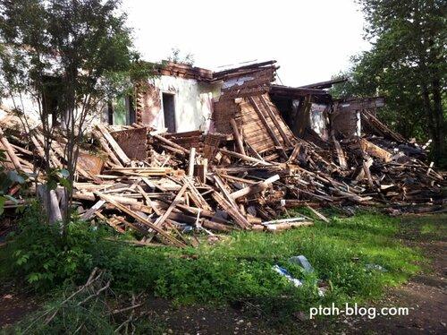 бокситогорск, разрушенные дома