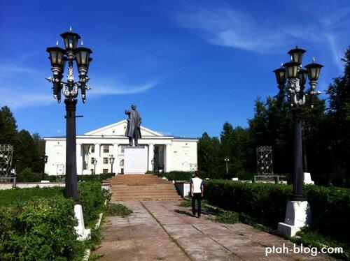 бокситогорск, площадь ленина