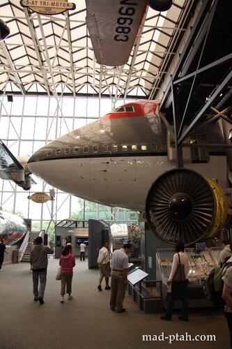 сша, вашингтон, музей космоса и авиации