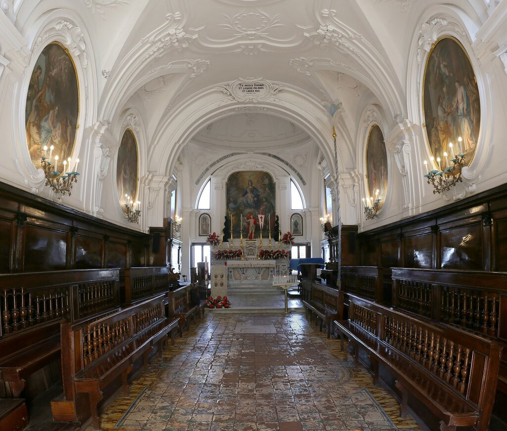 Ischia, Forio. The Church of Visitapoveri (Chiesa Santa Maria Visitapoveri)