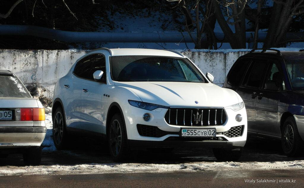 Maserati Levante Алматы, Казахстан.
