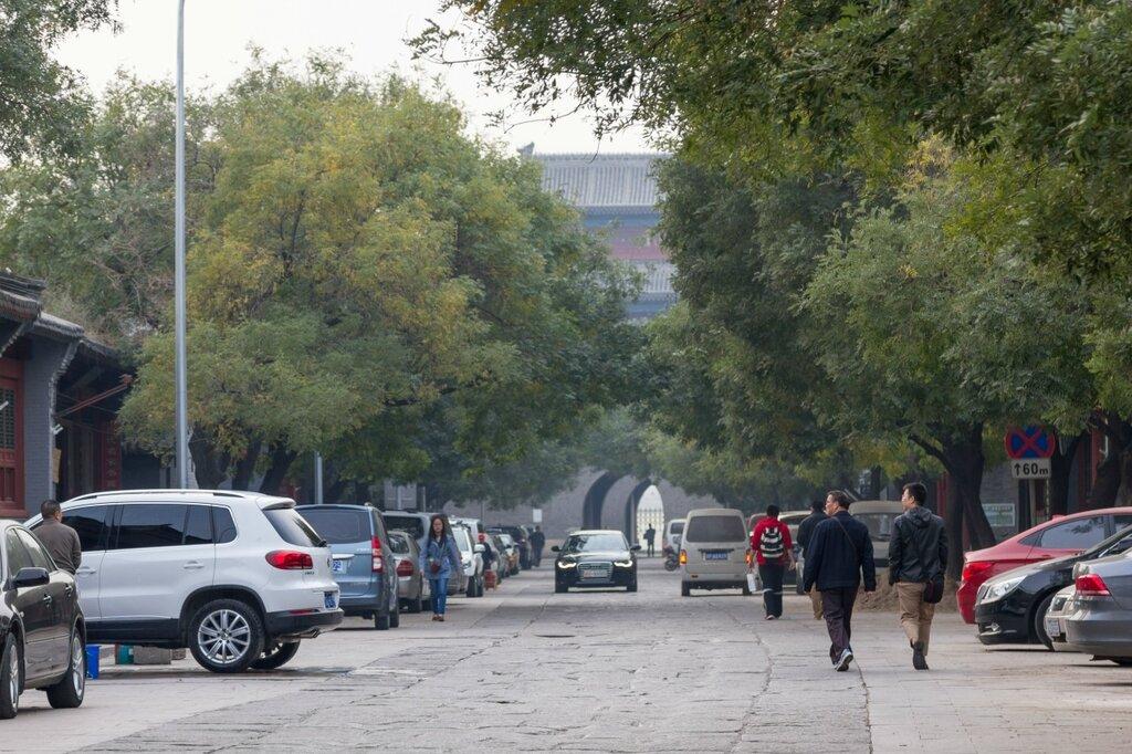 Центральная улица в крепости Ваньпин