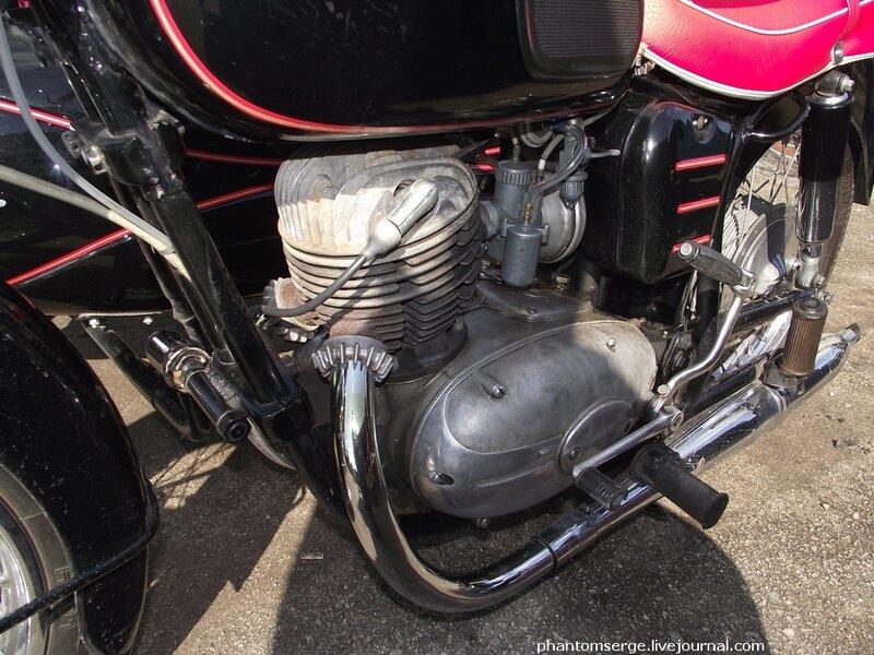 Pannonia T1, 1964. Двигатель 249 cm