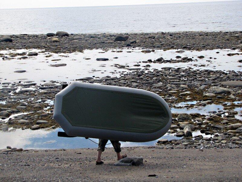 На машине по Ингрии и ожидание погоды у моря