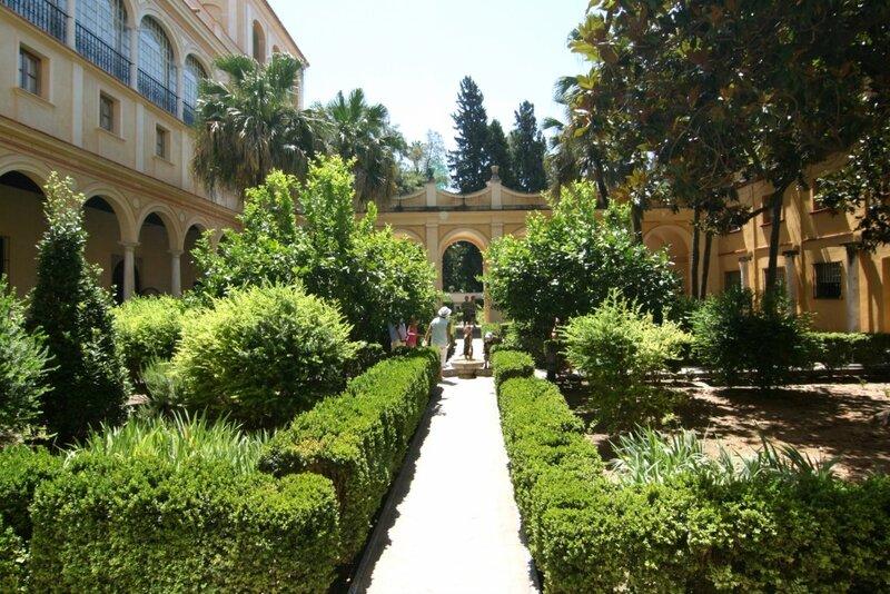 Севилья, Сады Алькасара