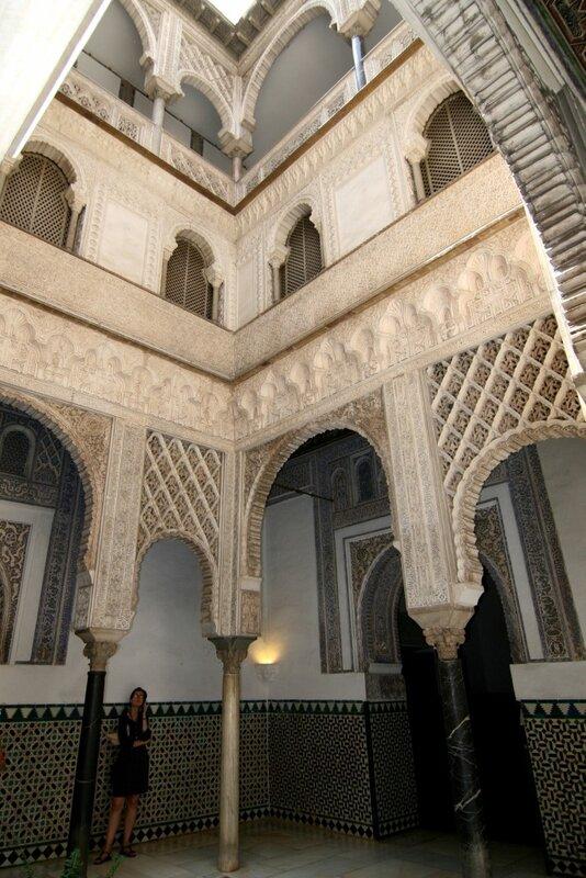 Севилья, Дворцы Королевского Алькасара