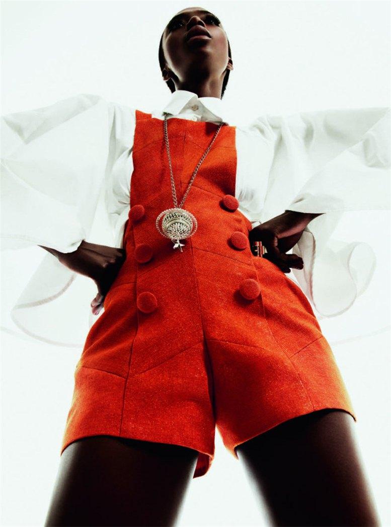 модель Джорджи Бадиль / Georgie Badiel, фотограф Sheila Okonkwo