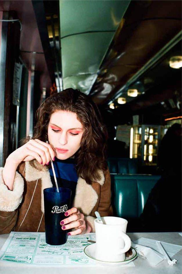 модель Тали Леннокс / Tali Lennox, фотограф Marlene Marino