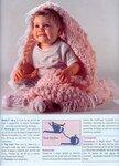 как связать крючком шарф с пупырышками - Выкройки одежды для детей и...