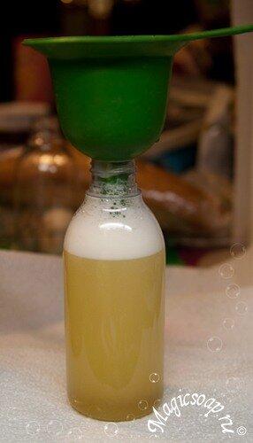 Как делать жидкое мыло из калийной пасты - мастер-класс.