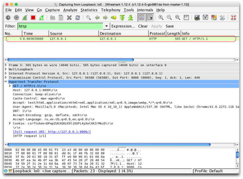 Python developer articles - Listen wifi with wireshark