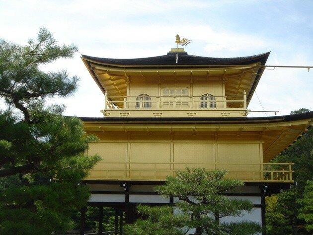 Павильон кинкаку дзи киото япония