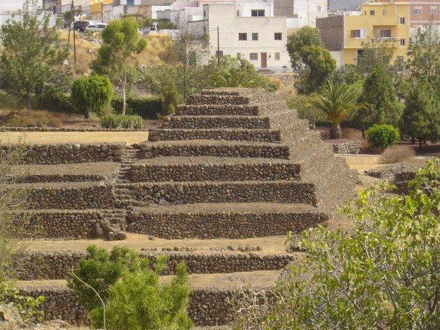 Пирамиды Гуимар. Тенерифе
