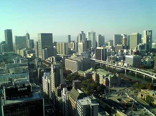 Осака город-порт.