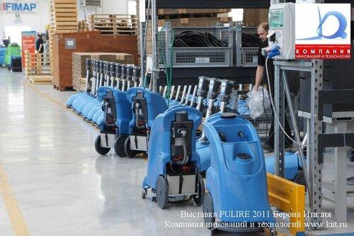 Здесь производят поломоечные машины FIMAP Поломоечные машины Аккумуляторные поломоечные машины Fimap Genie