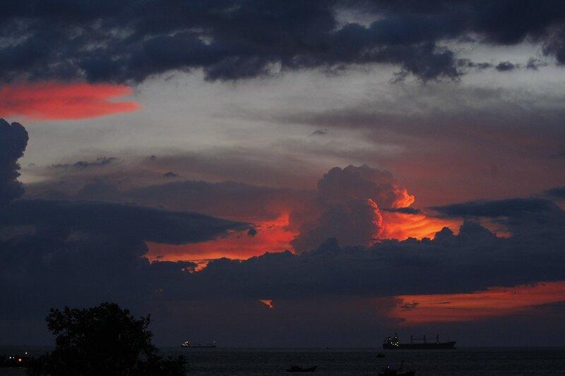 Закат в Вунг Тау