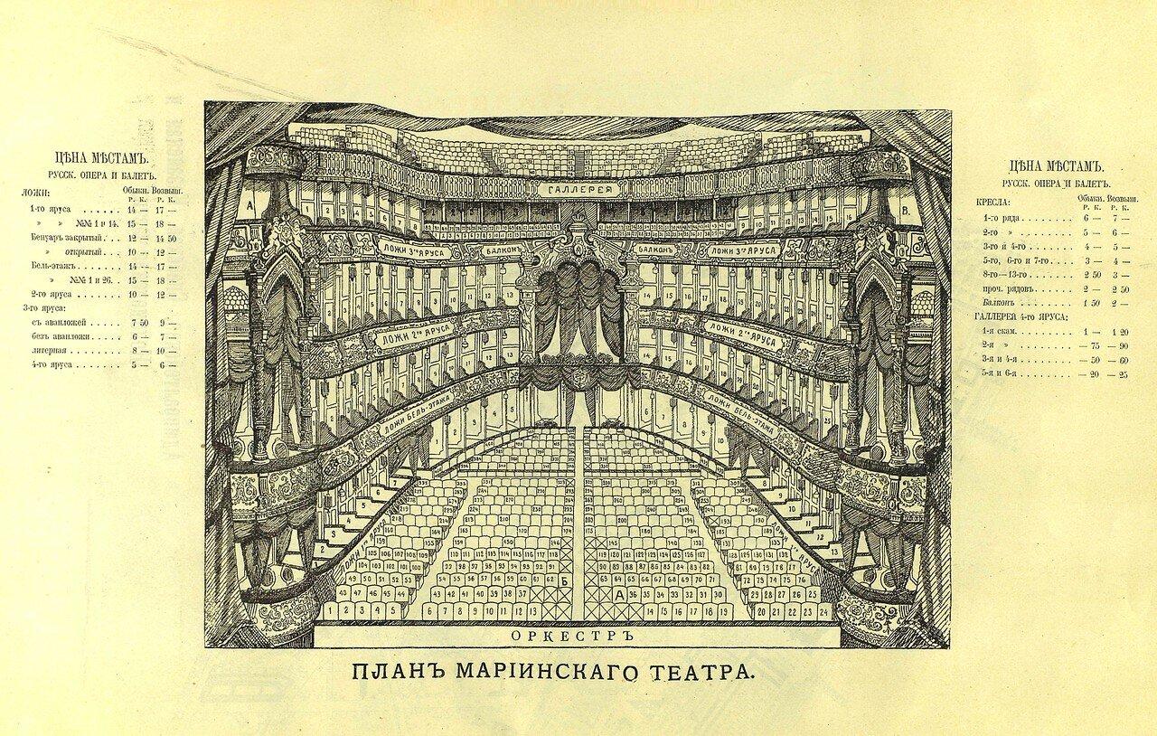 18. План Мариинского театра