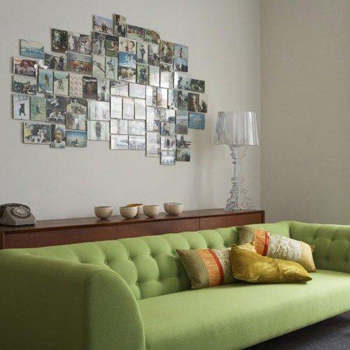 украсить стену дома декор сада своими.